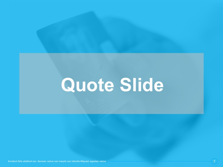 9 essential slide templates
