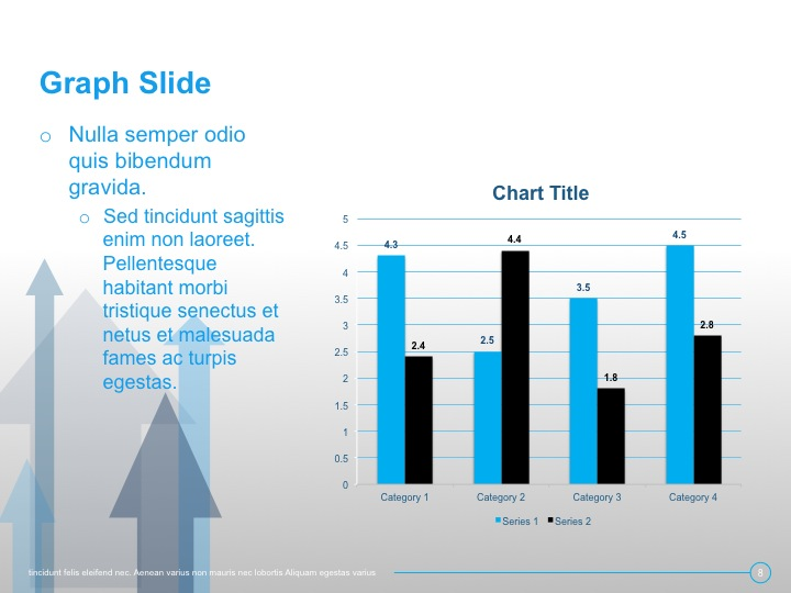 9 essential slide templates graph slide this slide is for charts and graphs when building out your template its important that you establish what your graphs will look like when on ccuart Image collections