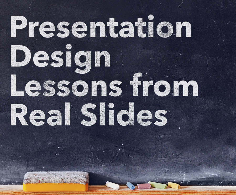 slide makeovers presentation design lessons from real slides