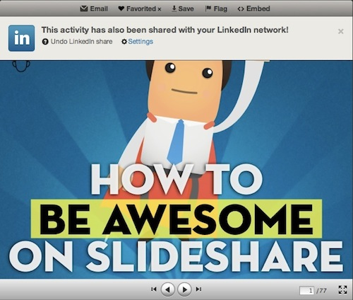Share on SlideShare