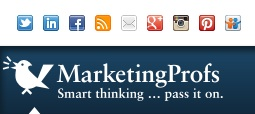 Marketing Profs SlideShare badge