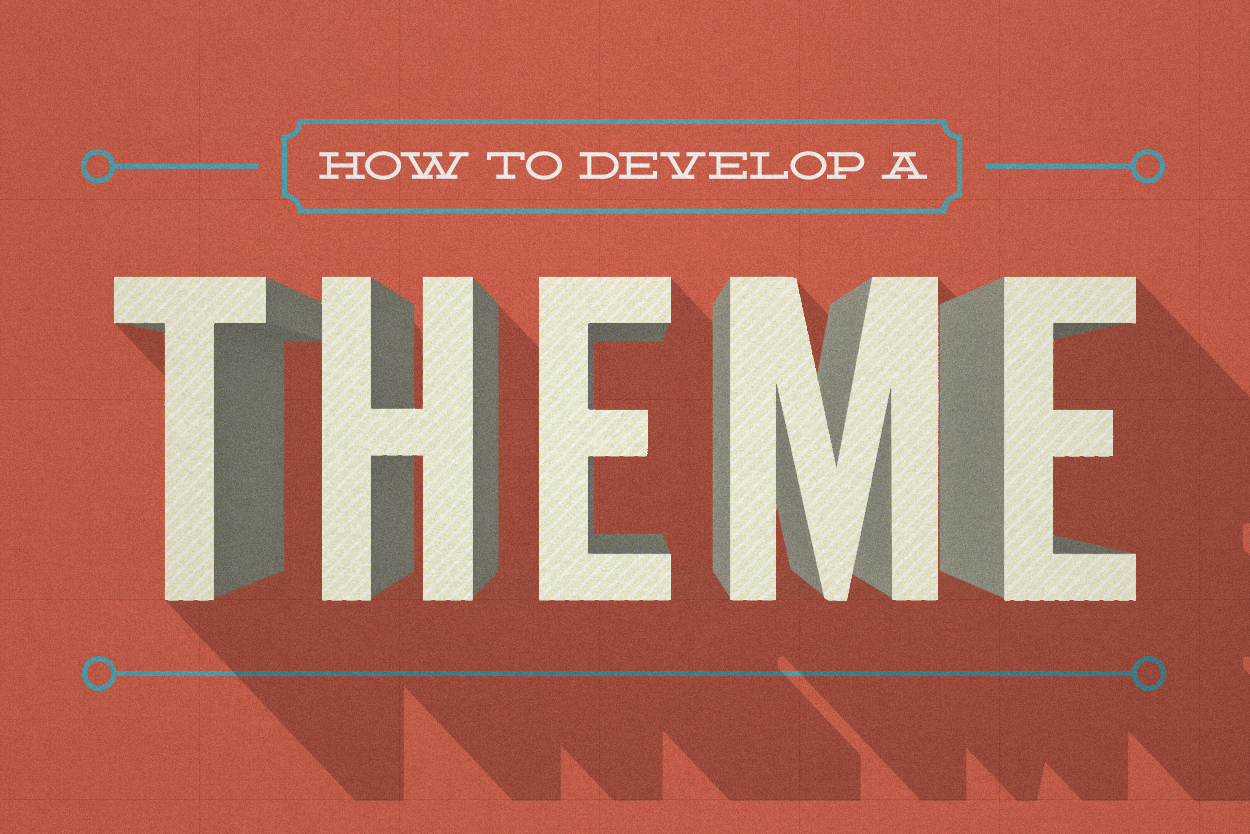 why your presentation needs a theme
